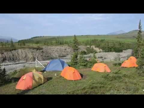 Camping in Ivvavik National Park