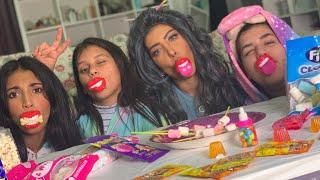 تحدي الحلويات معه ميمي والبنات 👏🏻