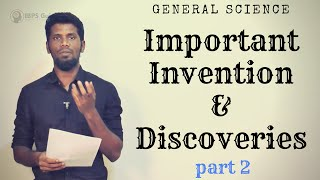 Important Invention & Discoveries | RRB NTPC | part 2 | General science | Mr.Jackson