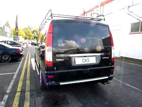 Mercedes Vito 2011 Cks Sport Exhaust System With Amg Tailpipes And