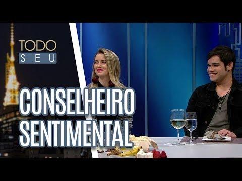 Conselheiro Sentimental Com Os Youtubers Jackeline Salomão E Felipe Ventura - Todo Seu (12/06/18)