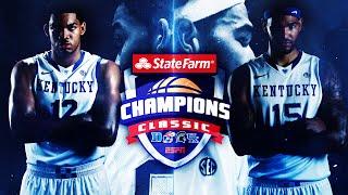 Kentucky Wildcats TV: #1 Kentucky vs #5 Kansas in the Champions Classic Highlights
