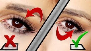 How to Apply False Eyelashes UNDERNEATH your Own lashes // FREE Online Makeup Lessons 101