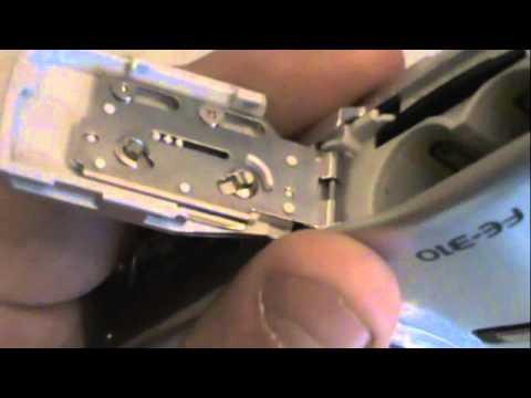 Repair olympus FE-310 low battery fix.m4v