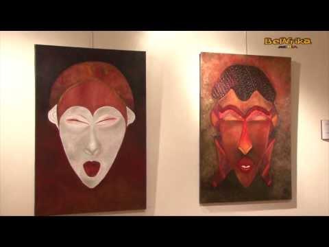 Fatoumata Sidibé Artiste peintre, auteure députée bruxelloise  présente son livre d'art/poésie II