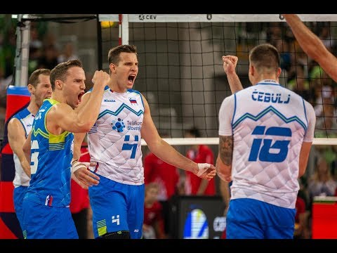 Russia-Slovenia Highlights | European Championship Volleyball 2019