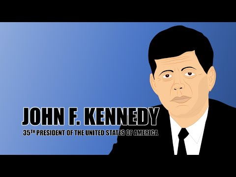 John F Kennedy Biography for Kids (Educational Videos for Students) Learning Cartoon Network