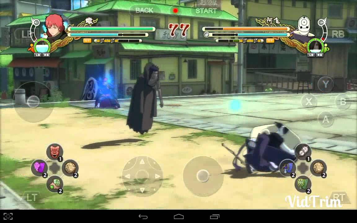 naruto shippuden ultimate ninja storm 3 full burst android download
