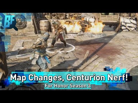 For Honor Season 3: Huge Patch Coming, Centurion Nerf Detailed