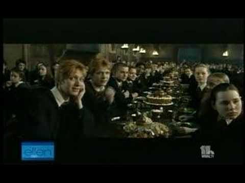 Umbridge interupting Dumbledore
