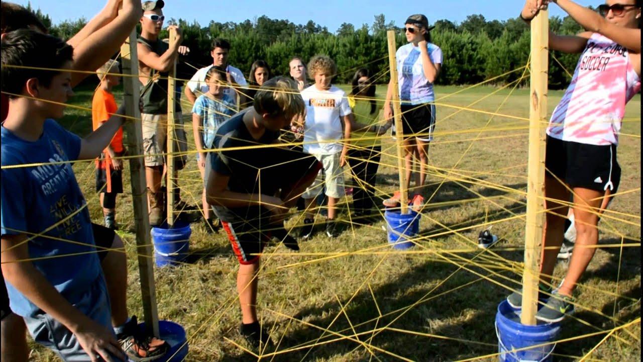Team Sport - Spider Web Obstacle Challenge