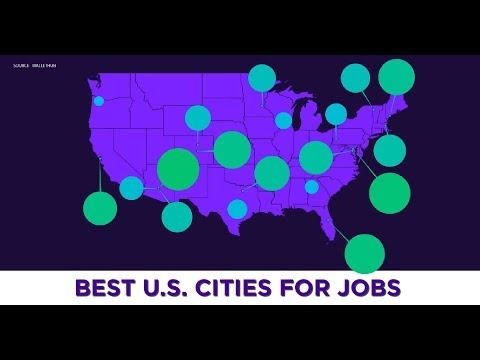 The Best U.S. Cities For Jobs Right Now