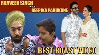 Ranveer Singh weds Deepika padukone || Wedding Funny Hindi Roast Video || Ranveer Deepika Marriage