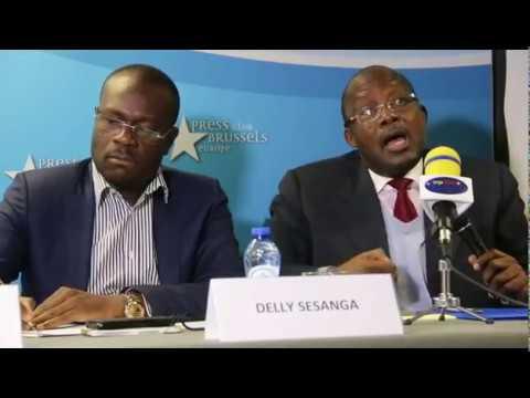 Le Rassemblement en conférence de presse à Bruxelles. Comment est-ce que Kabila a dribblé bango?