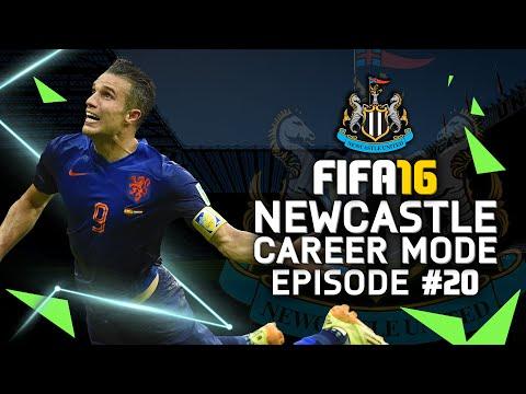FIFA 16 | Newcastle Career Mode #20 - RVP...