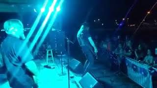 """CHARLIE BONNET III AND THE FOLKIN' GASHOLES - """"Sweet Baby Lied"""" STAGE CAM 8/26/17 Heath, OH"""