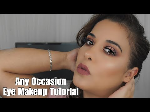 Eye Makeup Tutorial for Any Occasion thumbnail