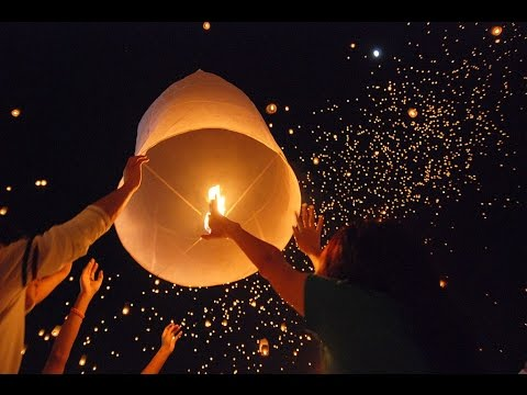 How To Light Launch Sky Lanterns Safety Precautions Awesome Fun 2017