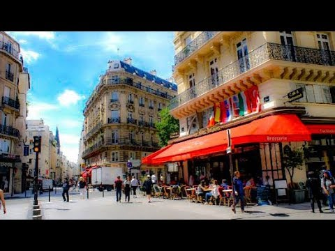 A Walk Down Rue Saint-Denis, Paris