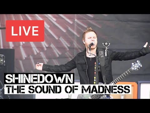 Shinedown - The Sound of Madness Live in [HD] @ Download Festival 2012