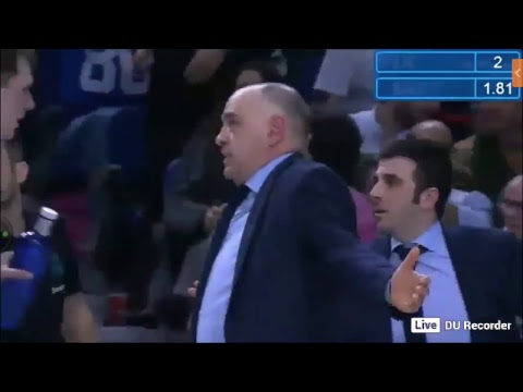 Real Madrid Olympiacos Live Second half