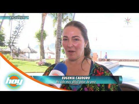 Eugenia Cauduro adelgaza gracias a un fan | Hoy