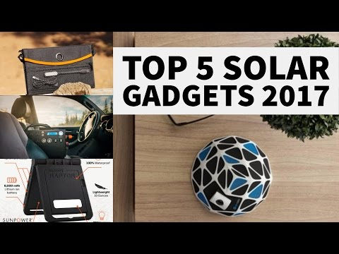 Top 5 Solar Gadgets 2017 | Solar System In A Box | Solar panels of future Solar Roadways