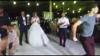 Свадьба Нармины и Ведат. Ахыска той в Турции.Братья невесты зажигают.  Ahiska düğün.