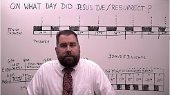 On What Day did Jesus Die and When did He Resurrect?