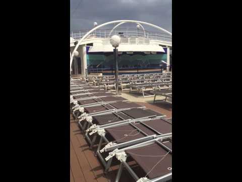 Pool Deck of MSC Musica
