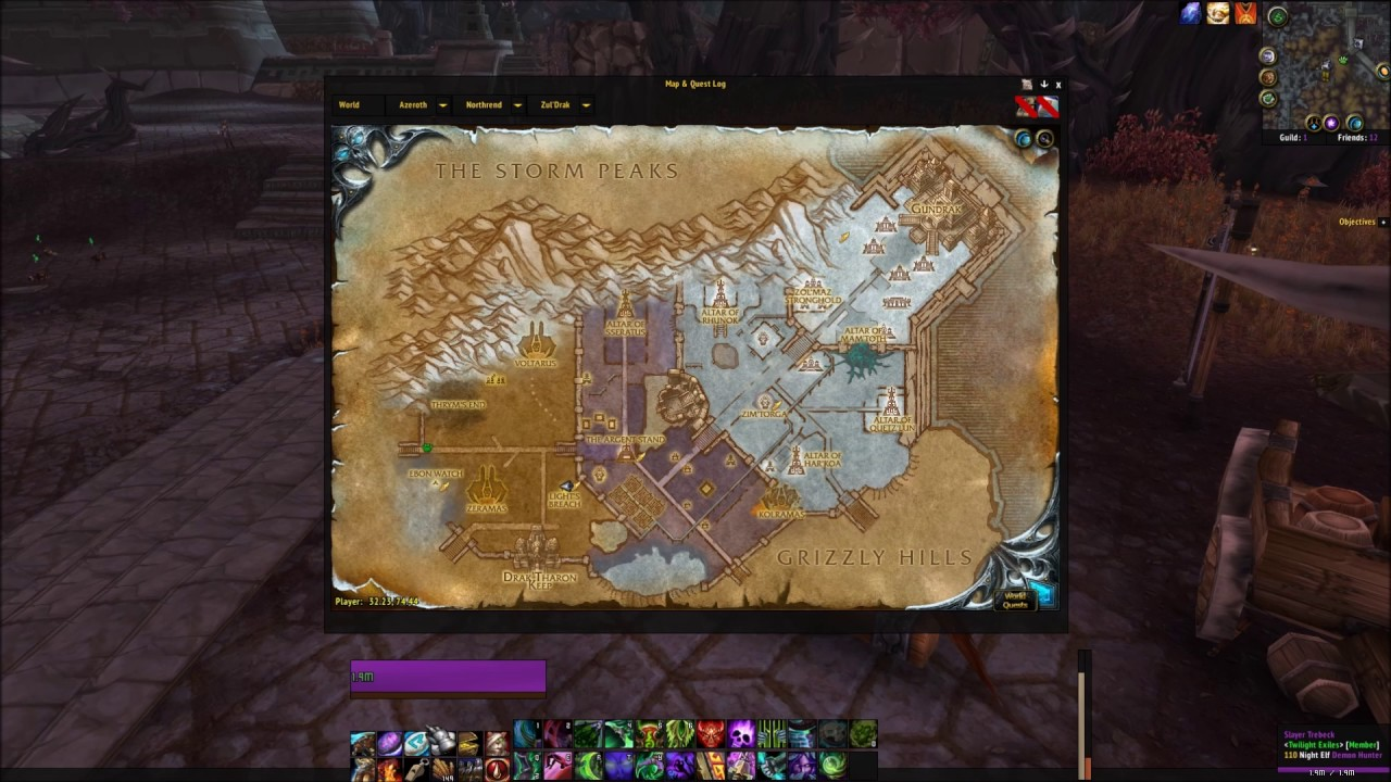 Drak Tharon Keep Entrance Location Wrath Of The Lich King Dungeon
