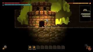 "How to get to the Secret ""Mario"" Area in Steamworld Dig for Wii U!"