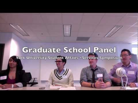 Panel on Graduate School Options For Student Affairs Professionals