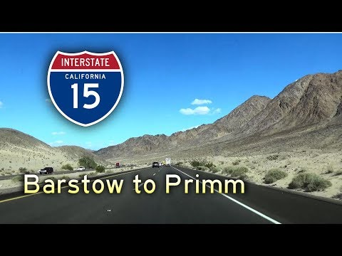 Grand Circle Tour II - Ep 2 || Interstate 15 California: Barstow to Primm, Nevada