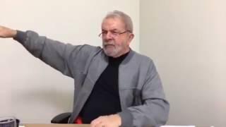 Lula fala sobre sua Eventual Prisão