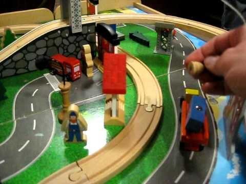 Imaginarium Train Table - YouTube