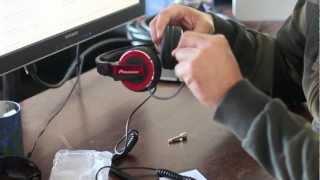 Pioneer HDJ 500 Red Review By edenthedjguy