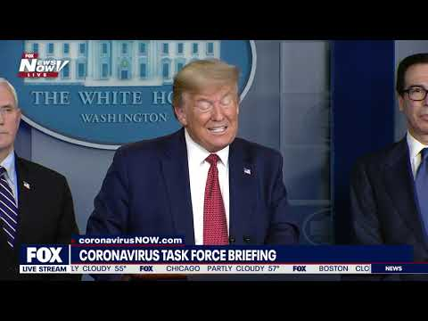 DOESN'T WANT TO TEST THE WHOLE NATION: President Trump Wednesday update