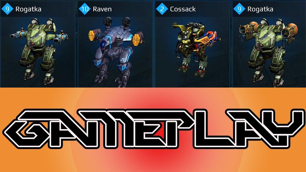 War Robots  Rogatka Raven Cossack Gameplay
