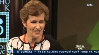 Trochu inak s Adelou Banášovou: Zora Bútorová/ sociologička