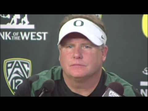 Chip Kelly Talks Oregon's 70-14 Win Over...