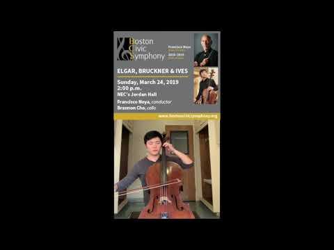 Cellist Brannon Cho invites you the Boston Civic Symphony