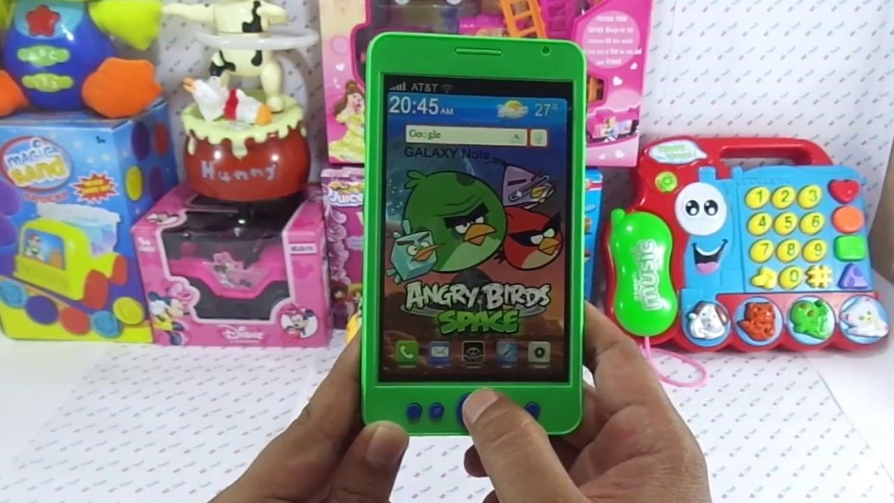 Bermain Handphone Mainan Handphone Toys Youtube