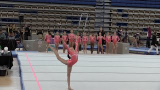 Annie the Gymnast | Level 7 Gymnastics Meet 8 | Acroanna
