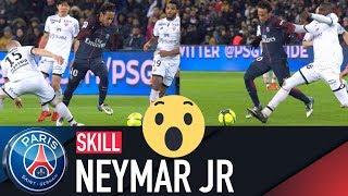 SKILL / GESTE TECHNIQUE : NEYMAR JR - PARIS SAINT-GERMAIN vs DIJON