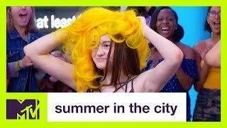 Katy Perry Super Fans Play 'Wigness' | Summer in the City | MTV