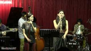 Monita Tahalea ft. Indra Lesmana & Eva Celia - Message in a Bottle @ Mostly Jazz 24/10/13 [HD]