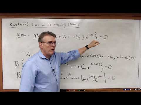 EECE 2112 Module 71:  Kirchhoff's Laws in the Frequency Doma