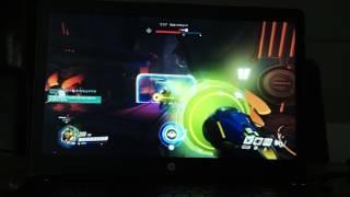 hp zbook 15 studio g3 m6v79av 오버워치 게임영상