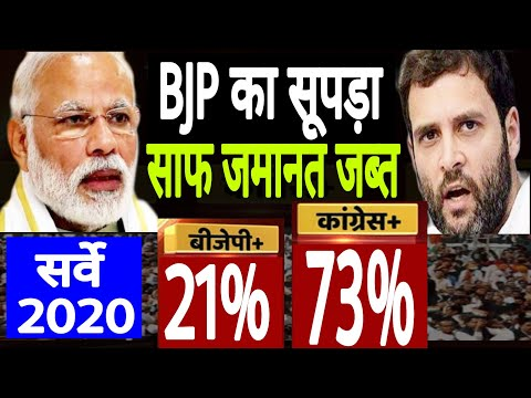 Opinion Polls 2020 | Survey 2020 | 1 Year Of Modi 2.0 | BJP | Congress | PM Modi | Rahul Gandhi